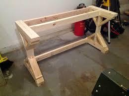 make your own desk diy ikea butcher block countertops as desk