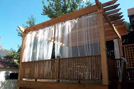 Pergola Designs With Roof by Curtain Call The Guide To Pergola Curtains