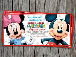 the 25 best mickey mouse birthday invitations ideas on pinterest