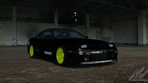 hoonigan cars nissan 240sx ls3 nissan car detail assetto corsa database