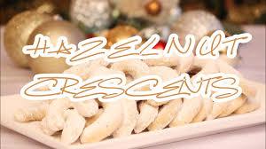 hazelnut crescents julia recipes christmas cookies czech