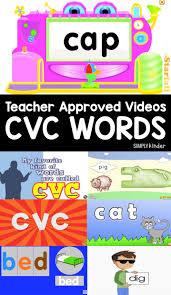 N Cvc Words by 89 Best Kindergarten Cvc Words Images On Pinterest Kindergarten