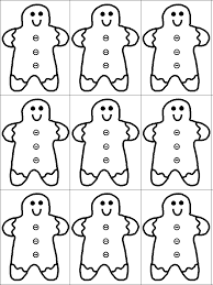 gingerbread man activity worksheet