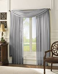 Sheer Navy Curtains Monagifts 2 Panels Navy Blue Sheer Voile Window Panel