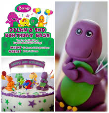 barney birthday cake kara s party ideas barney themed birthday party