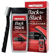 mothers vlr mothers back to black heavy duty trim cleaner kit pegasus auto