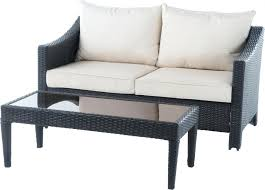 Patio Chair And Ottoman Set with Ottomans Couch Chair Ottoman Set Us Stock Font Patio Garden Sofa