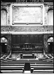 bureau des congres file salle du congrès à versailles vue de l hémicycle et du tableau