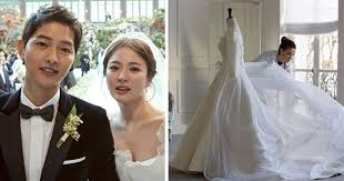 the last song wedding dress here s how made song hye kyo s wedding gown infactbuzz com