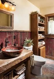 badezimmer modern rustikal bad aus holz gestalten ideen für rustikale badeinrichtung