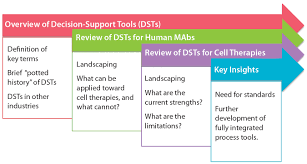 decision support tools for monoclonal antibody and cell therapy