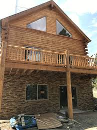 Icf Cabin Home Foundations Creative Faux Panels