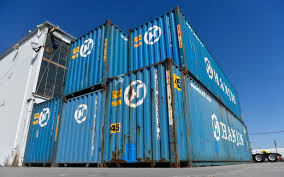 Secure Storage Container Hanjin Shipping Collapse Leaves Up To 15 000 Cargo Containers