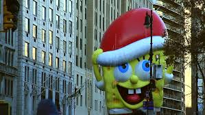 new york nov 26 macy s thanksgiving day parade with spongebob