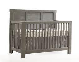 Wood Convertible Cribs Natart Rustico Convertible Crib With Wood Panel N Cribs