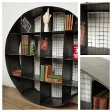 Metal Shelving Unit Industrial Round Metal Shelving Unit Mad About The House