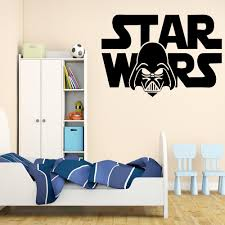 2 sizes darth vader star wars logo wall art vinyl decal sticker 2 sizes darth vader star wars logo wall art vinyl decal sticker kid room decor in wall stickers from home garden on aliexpress com alibaba group