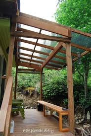 Deck Roof Ideas Home Decorating - image result for clear roof lean to terrace pinterest porch