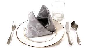 napkin folding for thanksgiving dinner how to fold a napkin into a bishop u0027s mitre napkin folding youtube