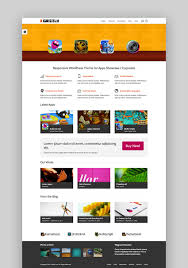 themes for mobile apps 17 best mobile app software wordpress themes for 2017