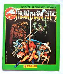 thundercats thundercats panini sticker album thundercats wiki fandom