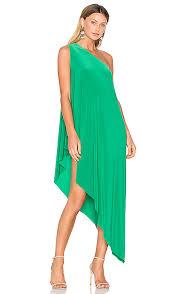 Kelly Green Maxi Dress Norma Kamali Diagonal Tunic In Kelly Green Revolve