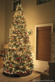 12 foot christmas tree christmas tree party 2014 from thrifty decor