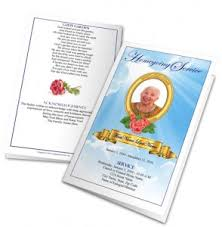 Downloadable Funeral Program Templates Funeral Program Templates Archives Funeral Programs Blog