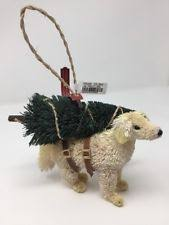 pottery barn wooden ornaments ebay