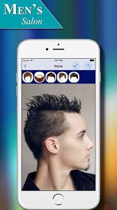 Hairstyle Generator For Men by Men U0027s Salon Hairstyles App For Ios