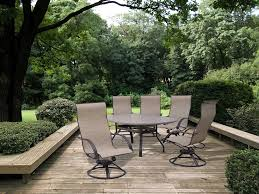 Sling Swivel Rocker Patio Chairs by Homecrest Patio Furniture Slings Patio Decoration