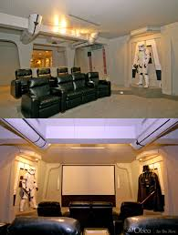 Cineak Seating Prices by Star Wars Home Theater Room I Wonder If They Have Have The Whole