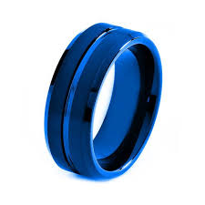 mens wedding bands cobalt these titanium colored wedding bands are not like your traditional