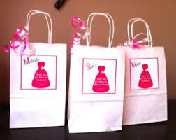 bridesmaid gift bag set of 4 bridal party gift bags bridesmaid gift wedding party
