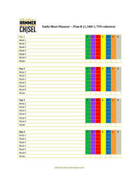 tony robbins rpm planner template jody s blog jody janczak fitness i made myself some and thought it d be nice to share see links below for free printable pdfs of every meal plan from a h