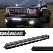 Truck Bed Light Bar 21 Inch 100w Cree Single Row Slim Led Light Bar For Truck Jeep Off