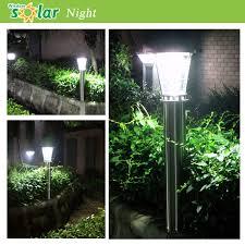 Solar Powered Bollard Lights - sale stainless steel led solar garden light outdoor light lawn