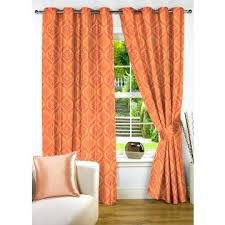 Orange White Curtains Orange And White Curtains Grace Eyelet Curtain Orange Orange White