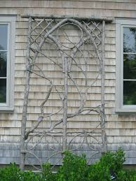 Backyard Trellis Ideas Make A Trellis From Branches In Your Yard Trellis Ideas For Small