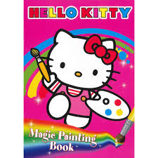painting book hello magic painting book children s colouring books at