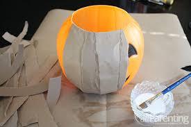 plastic pumpkins diy paper mache pumpkin