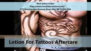 best tattoo lotion tattoo aftercare products youtube