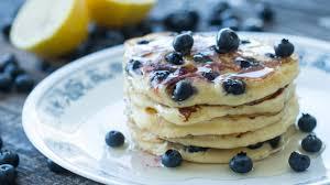 blueberry pancake recipe ricotta blueberry pancakes recipe youtube