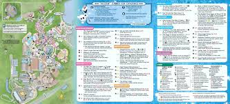 Map Of Epcot Disney Hollywood Studios Map U2013 Bfie Me