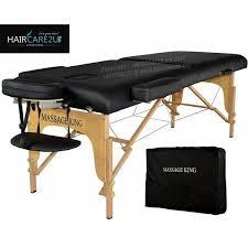 small folding cing table massage king portable folding foldable massage bed table high