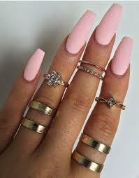 coffin acrylic nail designs 17 adorable pastel nail ideas