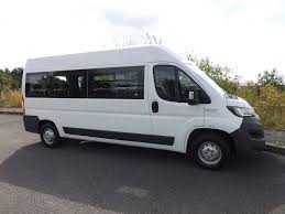 new candrive flexi 17 seat peugeot boxer minibus with manual side