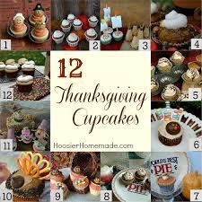 cupcake corner turkey cupcakes hoosier