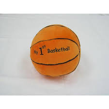 babies r us plush my first basketball 6 inch toys