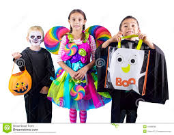halloween kids background halloween kids trick or treaters stock photo image 44966085